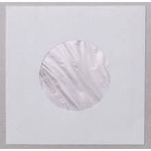 Buste Interne, FODERATI BIANCHE,per dischi 45 giri - Carta 60gr (Conf.100 pezzi)