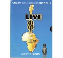 Artisti Vari – Live 8: One Day, One Concert, One World - 4 DVD 2005