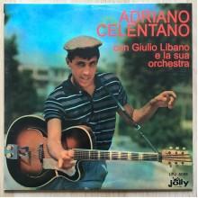 """Adriano Celentano Con Giulio Libano E La Sua Orchestra - LP/Album + 7"""" stampa 2011"""