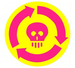"""FACTORY - Tappetino Antistatico design """"KILLER"""" (Conf.1 Pezzo)"""