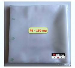 Buste ESTERNE per dischi vinili LP - DLP -325x325 mm - PE 150 mµ (Conf.50 Buste)