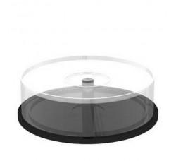 TEC - Campana di plastica vuota per 25 CD, DVD  (Qtà.1)