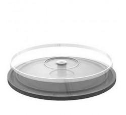 TEC - Campana di plastica vuota per 10 CD, DVD  (Qtà.1)