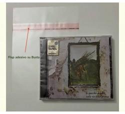 TEC - Bustine in PP pe CD con Jewel Case - Flap Adesivo (Qtà.100)