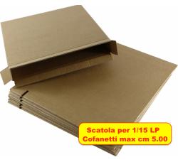 MUSIC MAT - Scatola per Spedizione cofanetti BOX vinili ( Qtà.10)
