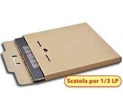 """MUSIC MAT - Scatola di Cartone """"KRAFT"""" per spedire 1/3 LP  (Qtà.10)"""