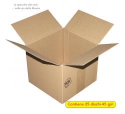 """MUSIC MAT - Scatola per spedire (25) dischi 45 Giri 7""""  (Qtà.1)"""