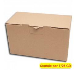 MUSIC-MAT - Per spedire o archiviare 1/25 CD  (Qtà.10 Scatole)
