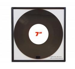"Cornice ""MUSIC MAT"" - per dischi vinili da 18 cm / 7"" pollici (Conf.1 Cornice)"