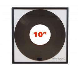"Cornice ""MUSIC MAT"" - per dischi vinili da 25 cm / 10 pollici (Conf.1 Cornice)"