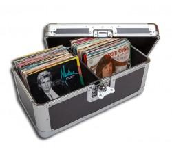 """Valigia Case """"MUSIC MAT"""" Contiene circa 200 dischi 45 Giri, 7"""" Pollici"""