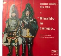 Domenico Modugno E Delia Scala – Rinaldo In Campo - 1961