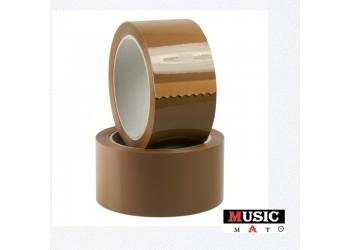 MUSIC MAT - Nastro imballaggio silenzioso - mt 66 cadauno (Conf.2 rotoli)