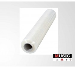 MUSIC MAT - Pellicola film estensibile trasparente in PE 17 mµ  (Qtà.1)
