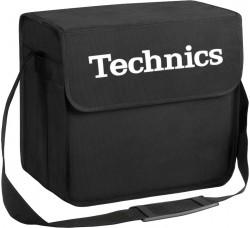TECHNICS - Borsa da DJ - colore nero / logo bianco - Contiene 50/60 LP - (Q.ta1)