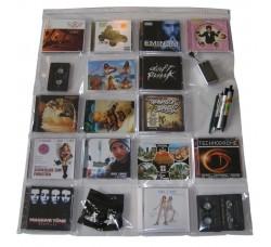 MUSIC MAT - Espositore da parete per 20 CD - Gadget  -Musicasette