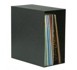 KNOSTI - Espositore Box Deluxe  per LP 50 LP/Vinile - Colore NERO (Q.ta 1 pezzo)