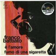Franco Battiato – E' L' Amore / Fumo Di Una Sigaretta - Record Store Day 2015