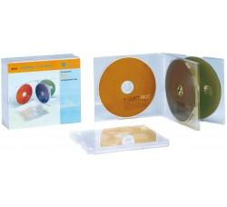 Custodie Multi slim per 4 CD (Conf. 5 CD)