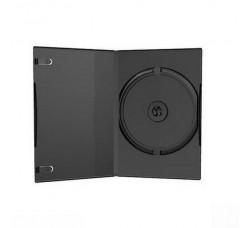 Custodia slim 7mm per 1 CD / DVD colore nero (Conf. 10 pezzi)