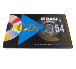 BASF -  Musicassetta vergine Position Chrome Extra - Min 54