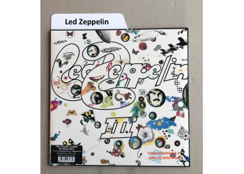 "SEPARATORI per dischi VINILE LP / 12"" - Mod. Inglese BIANCO Flap cm 16 - Q.ta 10"