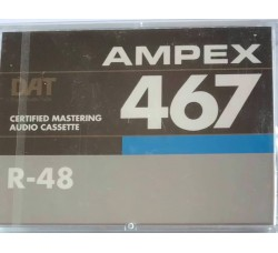 AMPEX 467  - DAT R-48 -DIGITAL AUDIO TAPE -