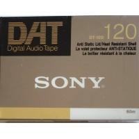 SONY  - DAT 120 -DIGITAL AUDIO TAPE -DT-120RN