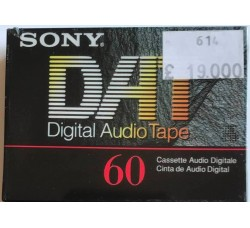 SONY  - DAT 60 -DIGITAL AUDIO TAPE -DT-60RA