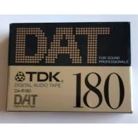 TDK - DAT 180 -DIGITAL AUDIO TAPE - DA-R-180