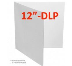 """Copertina  per LP & DLP 12"""" Gatefold BIANCA (Conf. 10 pezzi)"""