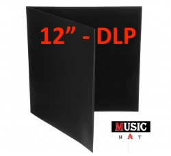 Copertina per LP - DLP Gatefold NERA - (Conf. 10 pezzi)