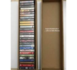 Contenitore scatola per 28/30  musicassette audio cassette - Q.ta 5
