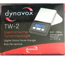 DYNAVOX: Bilancia TW-2  Con supporto in acciaio inossidabile antimagnetico