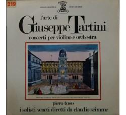 Artisti vari: Giuseppe Tartini, Piero Toso, Claudio Scimone, I Solisti Veneti