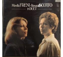 Mirella Freni ~ Renata Scotto – In Duet - LP/Vinile