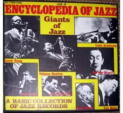 Artisti vari  – Encyclopedia Of Jazz Vol. 2 - Giants Of Jazz - Box set 3 LP/Vinile