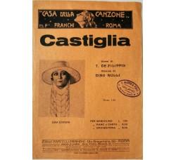 Spartito Musicale -  Castiglia