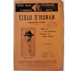Spartito Musicale -  Cielo D'honan
