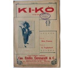 Spartito Musicale -  Ki - Kò