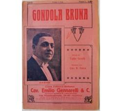 Spartito Musicale -  Gondola Bruna