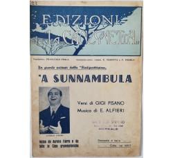 Spartito Musicale -  A sunnambula