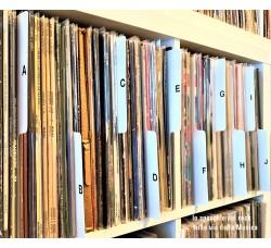 SEPARATORI per Dischi VINILI LP / 33 GIRI - Colore BIANCO - Flap CM 16 - Mod Inglese - Qtà 10