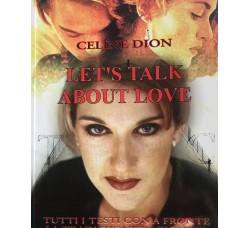 Celine Dion - Let's talk about love  - Libro / Book