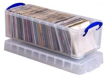 REALLY USEFUL - Contenitore  per 36 CD  DVD o 20 DVD