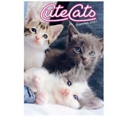 SPEDIZIONE GRATUITA - Cute Cats - Calendario  Collezione 2021