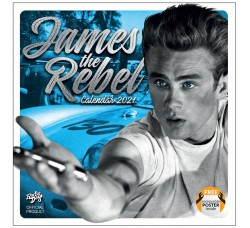 JAMES DEAN -  Calendario UFFICIALE 2021 - Contiene POSTER