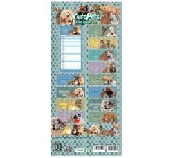 Calendario - CUTE PETS - Collezione (2021)