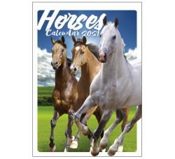 SPEDIZIONE GRATUITA - CAVALLI  - HORSES Calendario  Collezione 2021 -