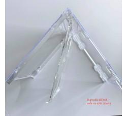 CUSTODIE per 2 CD  con Vassoio ClLEAR - Macchinabile - Q.ta 10